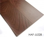 Wood PVC floor 2.0mm Residential Sheet Vinyl Flooring