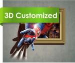 Newest Design Waterproof Anti Slip Inject Indoor 3D Vinyl Flooring