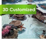 Sea World Design 3D PVC Rolls Floor