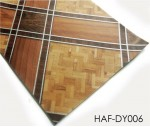 Plastic Flooring 2m Wide Brown Wood Sheet Vinyl Floor Roll