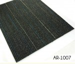 100% BCF PP Material Black Commercial Carpet