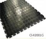 Anti-Corrosion PVC Interlocking Garage Flooring