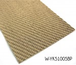 Vinyl Yarn Woven Flooring With Flat Wire