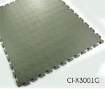 Garage Flooring Coin Pattern Interlocking PVC Tile