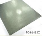 Dot Embossed Pattern Vinyl Garage Floor Tiles