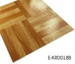 Wood Antislip Vinyl Flooring Tiles Adhesive