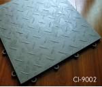 Plastic Interlocking Garage Flooring Tile