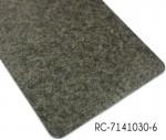 Commercial PVC floorboard Black marble pattern Vinyl flooring