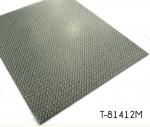 Square Modular Carpet Grain PVC Floor Mat