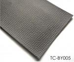 Absorb shock Anti-slip Embossed Pattern Vehicle Use PVC floors
