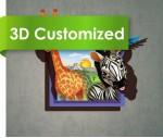 Cool Summer Image 3D PVC Flooring