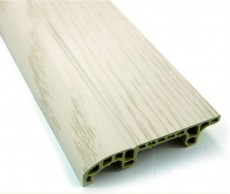 Interior PVC Plastic floor MDF Skirting White