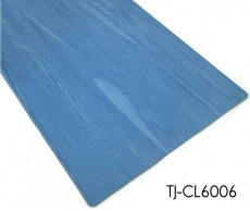Blue Directional Hospital 2m*20m Homogeneous Vinyl Floor