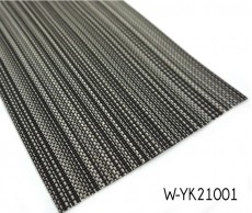 Impermeable Surface Woven Vinyl Floor With Stripe