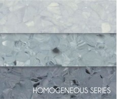Light Gray Non-Directional Factory Homogeneous Vinyl Flooring