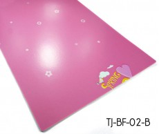 Pink Children Cartoon Vinyl Flooring Sheet