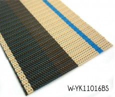 Colorful Woven Flooring With Flat Wire Vinyl Yarns
