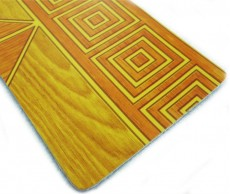 Plastic Wooden Grain PVC Flooring Roll