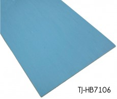Blue Patterned Commercial Directional Vinyl Sheets Homogeneous