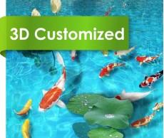 Customized Design PVC Roll Flooring