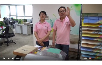 Top Joy Homogeneous Flooring Sample Packing Show