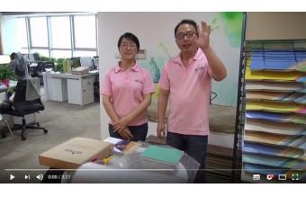 Top Joy Homogeneous Flooring Sample Packing Show
