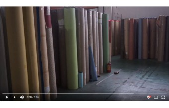 Our big warehouse for PVC flooring products