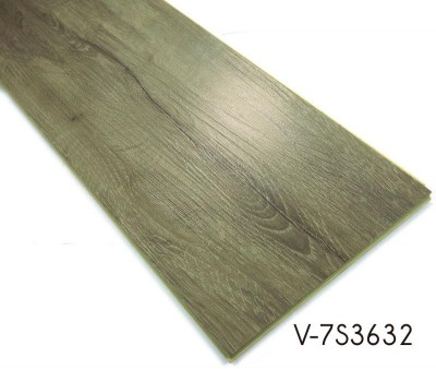 Wood Grain WPC Vinyl Click Waterproof Flooring Tiles