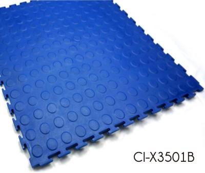 PVC Click Lock Industrial Garage Floor Covering