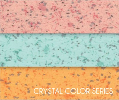 Crystal  Color Series Sound Absorption Vinyl Sheet Flooring