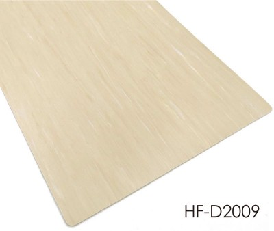 Eco-friendly PUR Coating Homogeneous Vinyl Flooring