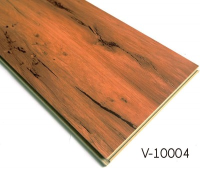 Wood Non-toxic Indoor WPC Interlocking Flooring