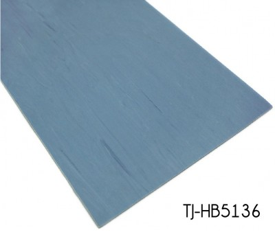 Light Blue Excellent Flammability Homogeneous Sheet Vinyl for Hospital