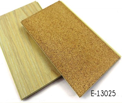 Cork Backing WPC Flooring With HPL
