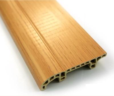 Wood like Vinyl Interior MDF Skirting