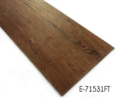 2.0mm-3.0mm Wood Grain Dry Back Vinyl Floor Tile