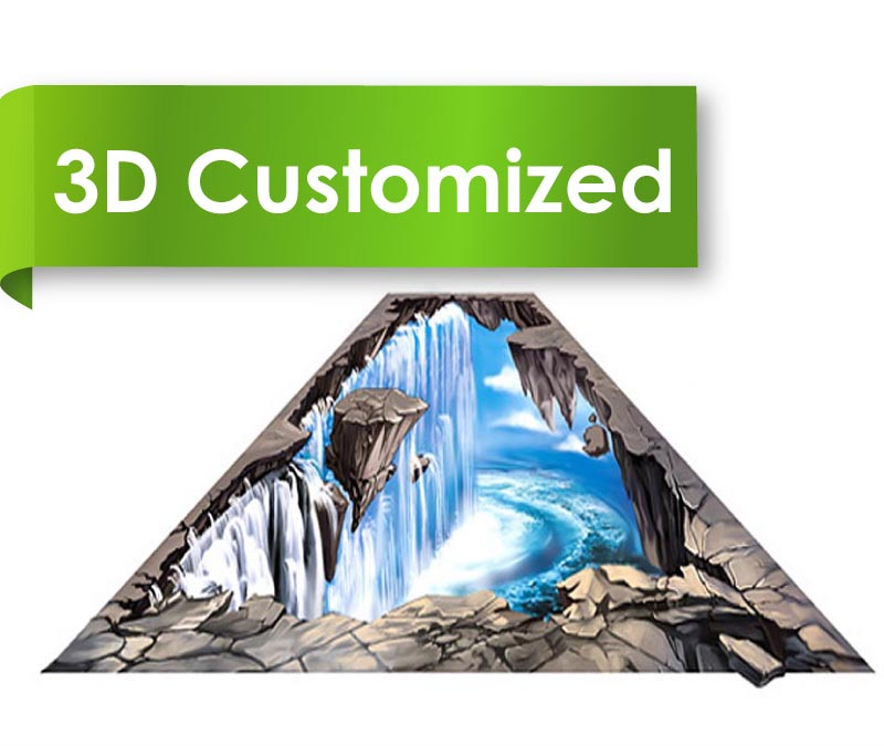 2016 New Design Factory Price 3D Vinyl Flooring