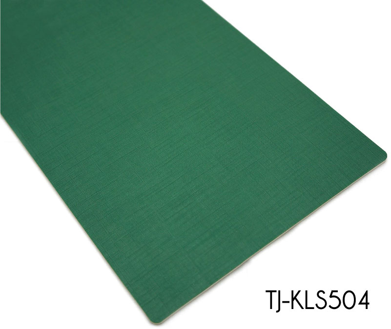 Commercial Non Formaldehyde Waterproof Green Vinyl Sheets