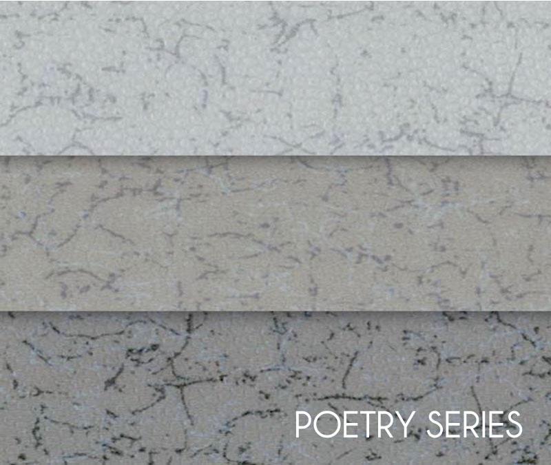 Gray Non Slip Elasticity Sheet Vinyl Flooring