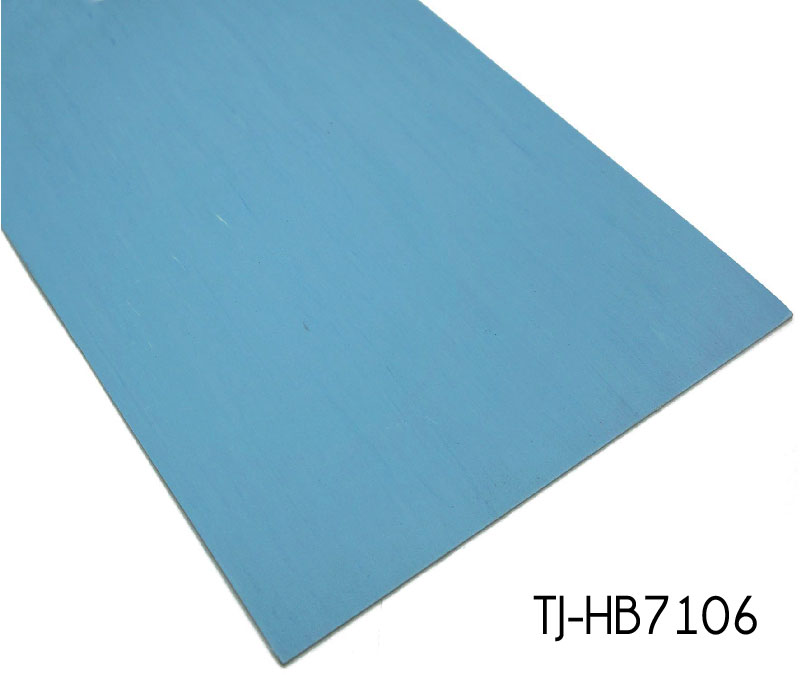 Blue Patterned Commercial Directional Vinyl Sheets Homogeneous