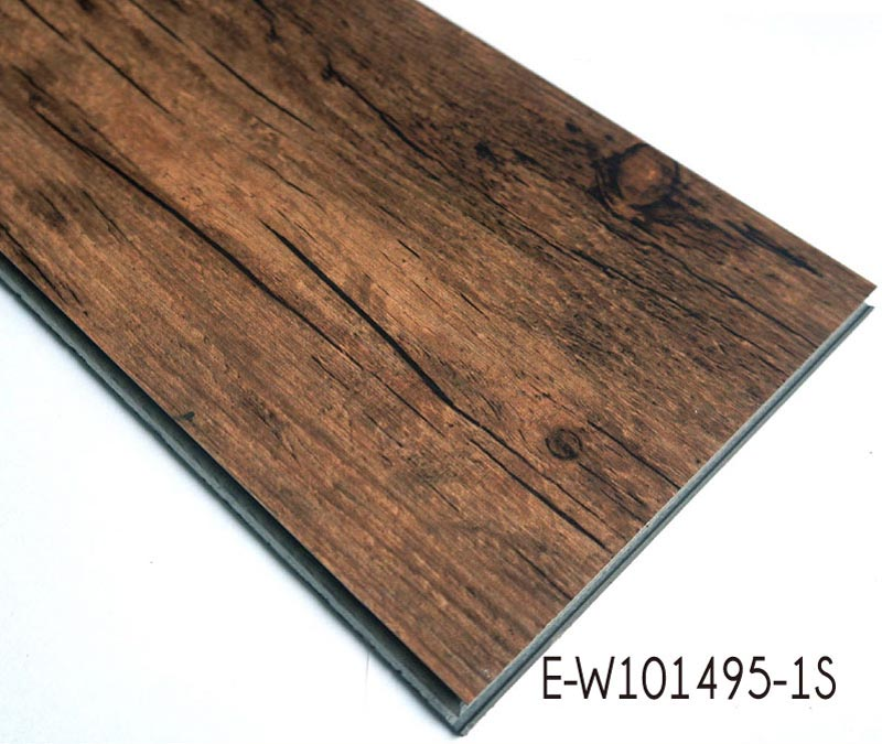 Anti-slip Wood Grain PVC Interlocking Vinyl Flooring