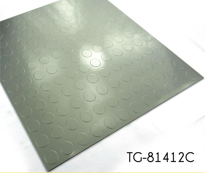 도트 양각 패턴 비닐 차고 바닥 타일 - TopJoyFlooring