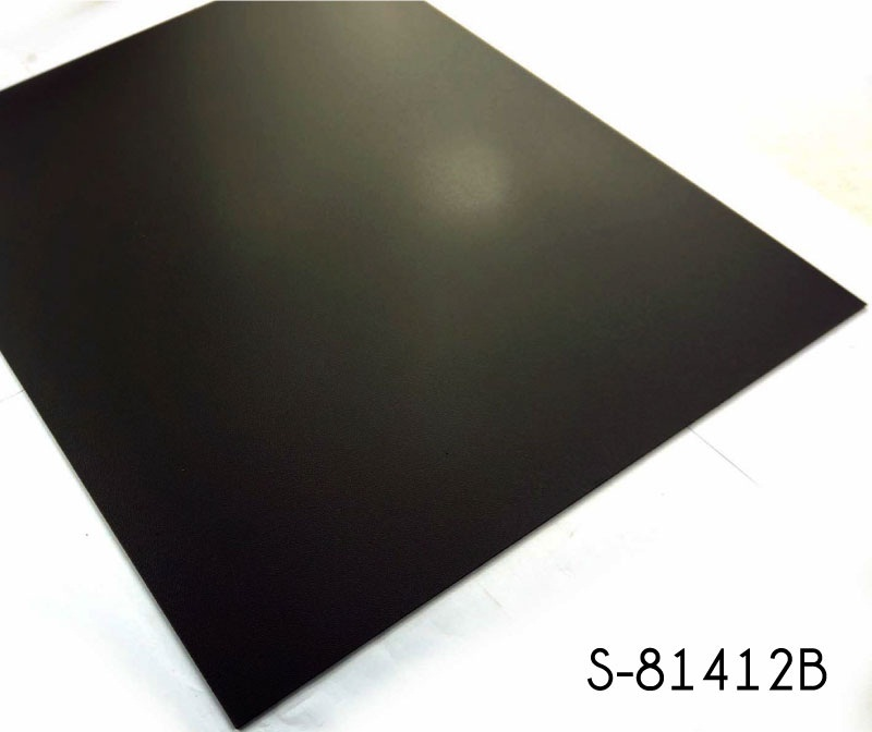 Dry Back Vinyl Black Floor Tiles - TopJoyFlooring