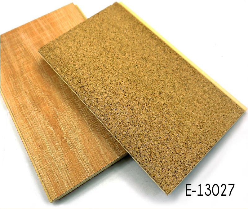 Sound Absorbing Flooring : Fire resistant sound absorbing hpl wpc flooring with cork