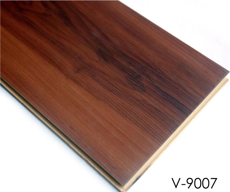Plastic Floor: Wood Plastic Composites PVC Floor Tiles