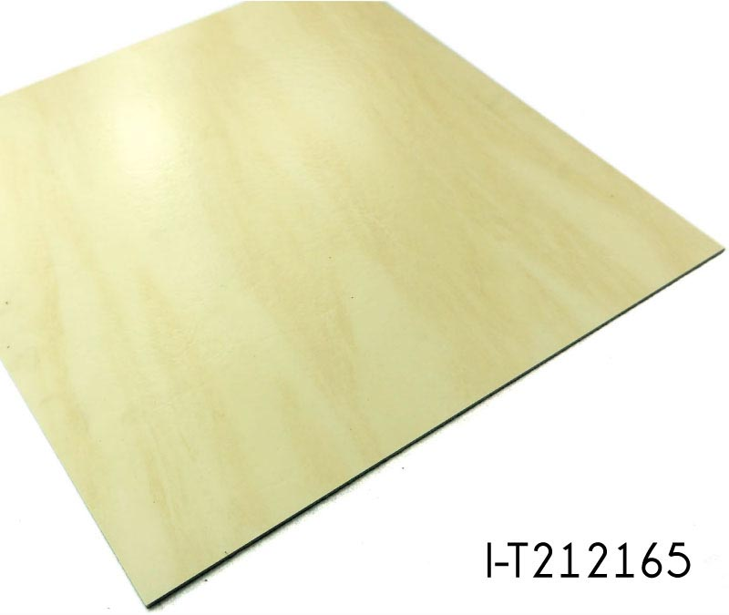 Glue Down Stone Look High Glossy Vinyl Flooring
