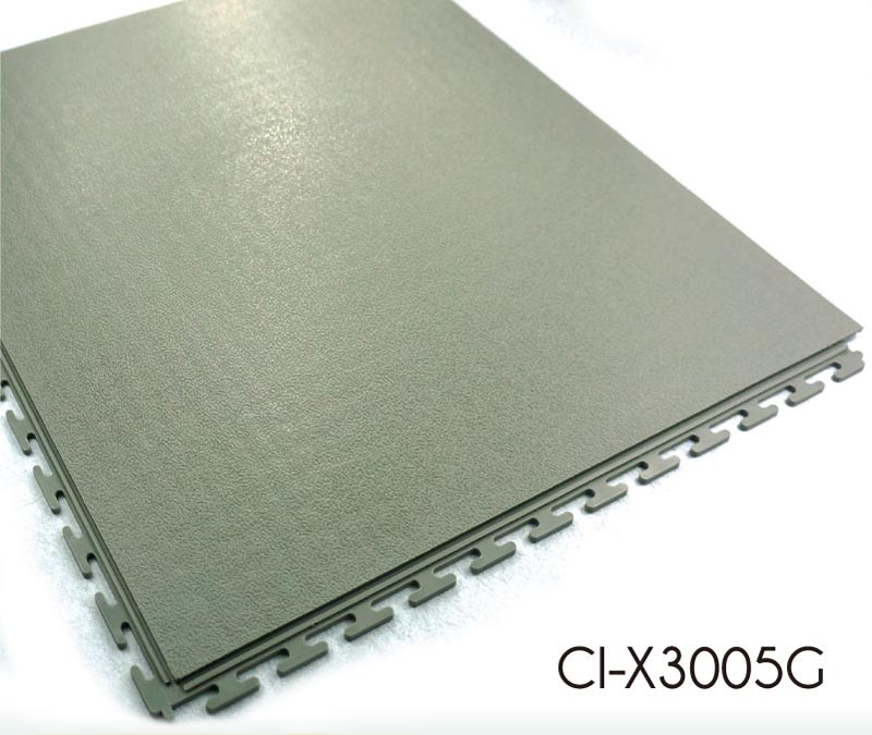 Hidden Joint Interlocking PVC Tile Smooth Pattern