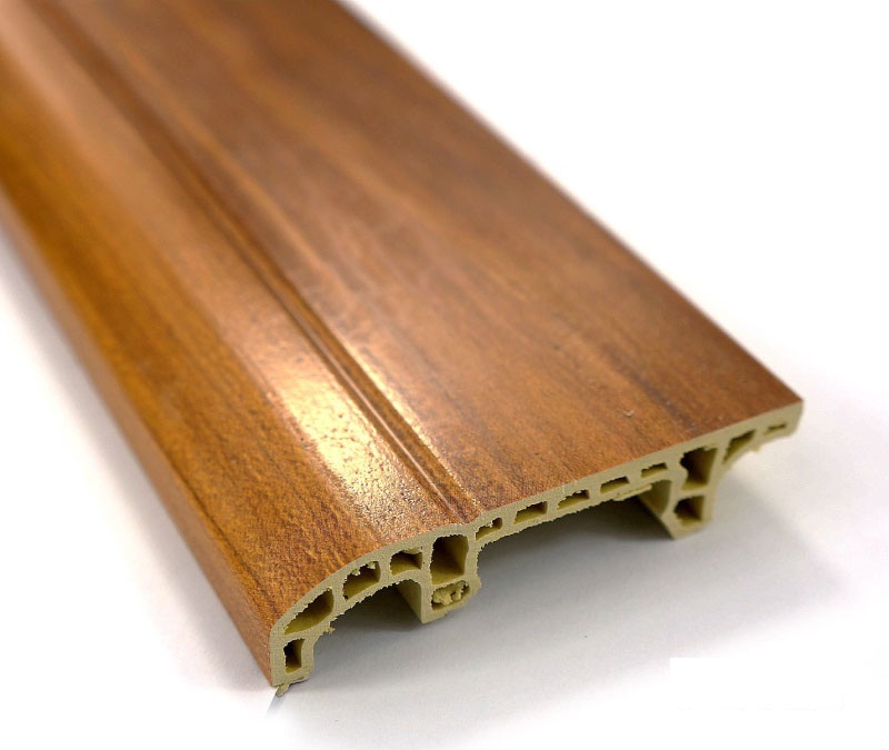 Indoor Moistureproof WPC Vinyl Skirting Board