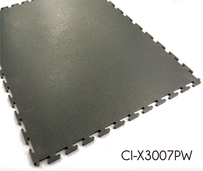Industry Flooring Smooth Pattern Interlocking PVC Flooring