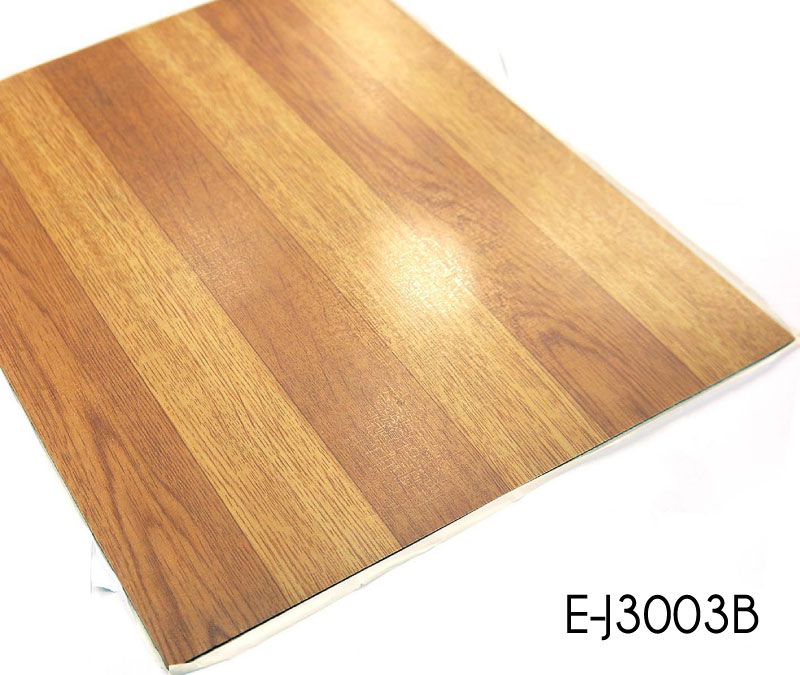 Peel And Stick Standard Size Wood Grain Pvc Tile Vinyl